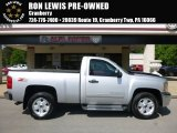 2012 Silver Ice Metallic Chevrolet Silverado 1500 LT Regular Cab 4x4 #120534666