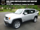 2017 Glacier Metallic Jeep Renegade Latitude 4x4 #120534662