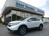 2017 White Diamond Pearl Honda CR-V EX AWD #120534800