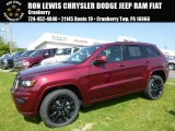 2017 Velvet Red Pearl Jeep Grand Cherokee Laredo 4x4 #120534651