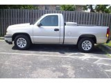 2006 Silver Birch Metallic Chevrolet Silverado 1500 Work Truck Regular Cab #12049399