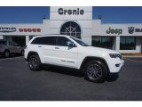 2017 Bright White Jeep Grand Cherokee Limited #120560636
