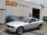 2006 Satin Silver Metallic Ford Mustang V6 Premium Coupe #12038777