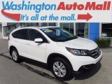 2013 White Diamond Pearl Honda CR-V EX AWD #120560548