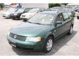 2000 Bright Green Metallic Volkswagen Passat GLS 1.8T Wagon #12030561