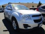 2014 Silver Topaz Metallic Chevrolet Equinox LT #120560730
