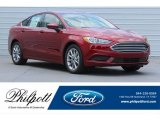 2017 Ruby Red Ford Fusion SE #120560650