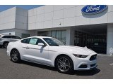 2017 Oxford White Ford Mustang Ecoboost Coupe #120560589