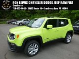 2017 Hypergreen Jeep Renegade Latitude 4x4 #120592362
