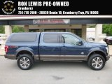 Blue Jeans Ford F150 in 2017