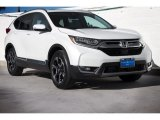 2017 White Diamond Pearl Honda CR-V Touring AWD #120603134