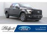 2017 Shadow Black Ford F150 XLT SuperCrew #120603144
