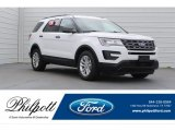 2017 Oxford White Ford Explorer FWD #120603142