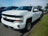 2017 Summit White Chevrolet Silverado 1500 LT Double Cab 4x4 #120609288