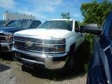 2017 Summit White Chevrolet Silverado 2500HD Work Truck Regular Cab 4x4 #120609281
