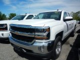 2017 Summit White Chevrolet Silverado 1500 LT Double Cab 4x4 #120609280