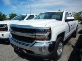 2017 Summit White Chevrolet Silverado 1500 LT Double Cab 4x4 #120609280