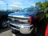 2017 Deep Ocean Blue Metallic Chevrolet Silverado 2500HD Work Truck Regular Cab 4x4 #120609279