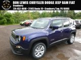 2017 Jetset Blue Jeep Renegade Latitude 4x4 #120609143
