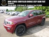 2017 Velvet Red Pearl Jeep Grand Cherokee Laredo 4x4 #120609140