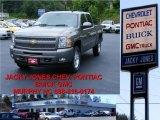 2009 Graystone Metallic Chevrolet Silverado 1500 LT Crew Cab 4x4 #12051592