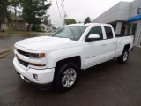 2017 Summit White Chevrolet Silverado 1500 LT Double Cab 4x4 #120609125