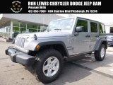 2017 Billet Silver Metallic Jeep Wrangler Unlimited Sport 4x4 #120609238