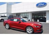 Ruby Red Ford Mustang in 2017