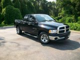 2004 Black Dodge Ram 1500 SLT Quad Cab #12045549