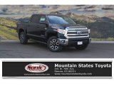 2017 Midnight Black Metallic Toyota Tundra SR5 CrewMax 4x4 #120622619