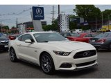 2015 50th Anniversary Wimbledon White Ford Mustang 50th Anniversary GT Coupe #120622685