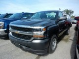 2017 Graphite Metallic Chevrolet Silverado 1500 WT Regular Cab #120622834