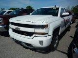 2017 Summit White Chevrolet Silverado 1500 LT Double Cab 4x4 #120622833