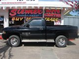 2001 Black Dodge Ram 1500 ST Regular Cab 4x4 #12048080