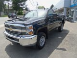 2017 Black Chevrolet Silverado 2500HD Work Truck Regular Cab 4x4 #120622675
