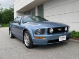 2005 Windveil Blue Metallic Ford Mustang GT Deluxe Coupe #12048785