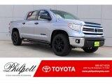2017 Silver Sky Metallic Toyota Tundra SR5 TSS Off-Road CrewMax #120640890