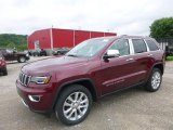 2017 Velvet Red Pearl Jeep Grand Cherokee Limited 4x4 #120680307
