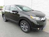 2017 Dark Olive Metallic Honda CR-V EX-L AWD #120680178