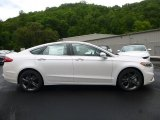 2017 White Platinum Ford Fusion Sport AWD #120680296