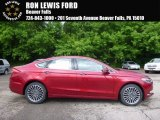 2017 Ruby Red Ford Fusion SE AWD #120680125