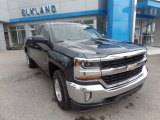 2017 Graphite Metallic Chevrolet Silverado 1500 LT Double Cab 4x4 #120708806