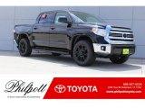 2017 Midnight Black Metallic Toyota Tundra SR5 CrewMax 4x4 #120708923