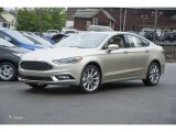 2017 White Gold Ford Fusion Platinum AWD #120708847