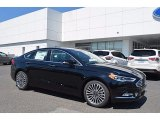 2017 Shadow Black Ford Fusion SE #120730611