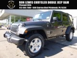2017 Granite Crystal Metallic Jeep Wrangler Unlimited Sport 4x4 #120730641