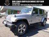 2017 Billet Silver Metallic Jeep Wrangler Unlimited Sahara 4x4 #120730639