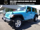 2017 Chief Blue Jeep Wrangler Unlimited Sport 4x4 #120730636