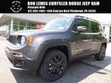 2017 Granite Crystal Metallic Jeep Renegade Latitude 4x4 #120730635