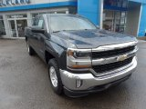 2017 Graphite Metallic Chevrolet Silverado 1500 LT Double Cab 4x4 #120738571